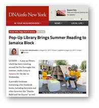 DNAinfo-Jamaica article