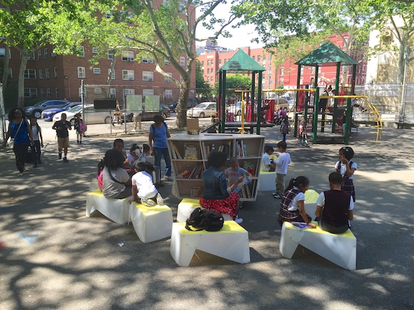 Uni at James Weldon Johnson Playground, East