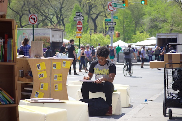 Uni at Earth Day 2016 NYC