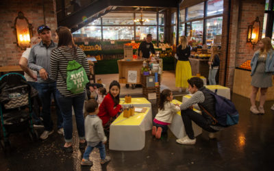 Pop-up drawing studio for all at Chelsea Market