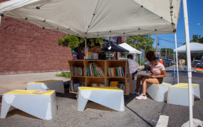 Adding reading to Open Streets in Red Hook