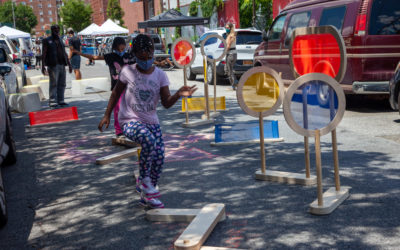 Rolling out PLAY NYC, hands-free play for the street.