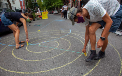 Activating an Open Street in East Harlem