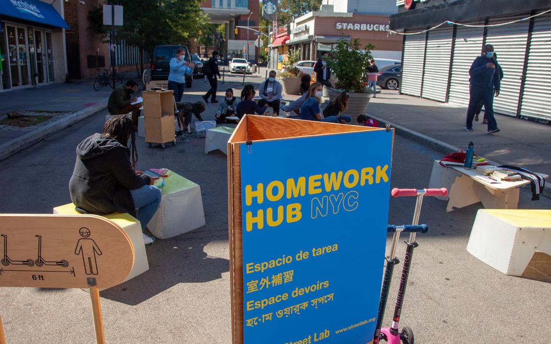 Homework Hub on Doyers St in Chinatown