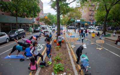 Partnership between Street Lab and Spin to support NYC Open Streets.