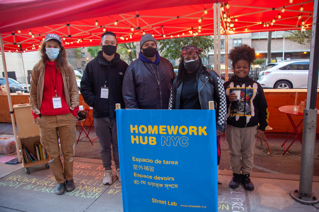 Street Lab staff at Chelsea Market NYC