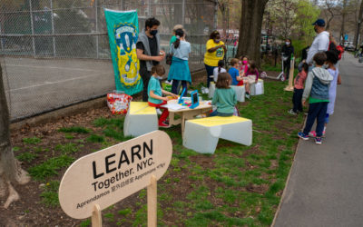 Three open-air Learning Hubs launching across West Harlem
