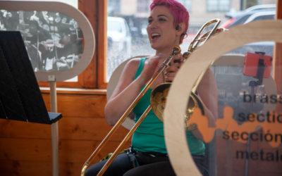 Chelsea Symphony on the street—Brass!