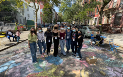 Barnard students volunteer with Street Lab across NYC